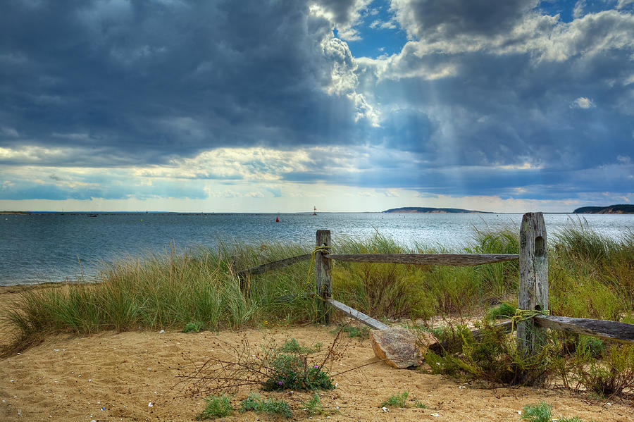Wellfleet Harbor Cape Cod Photograph