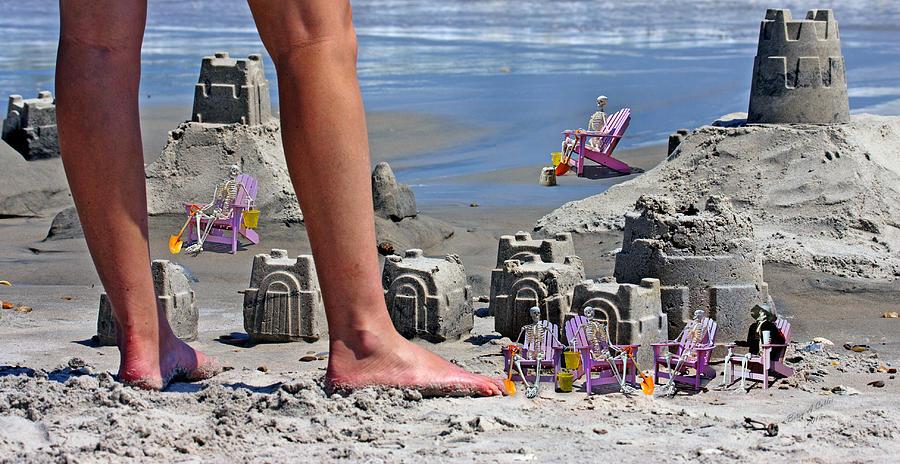 Beach Digital Art - Were Moving In by Betsy C Knapp