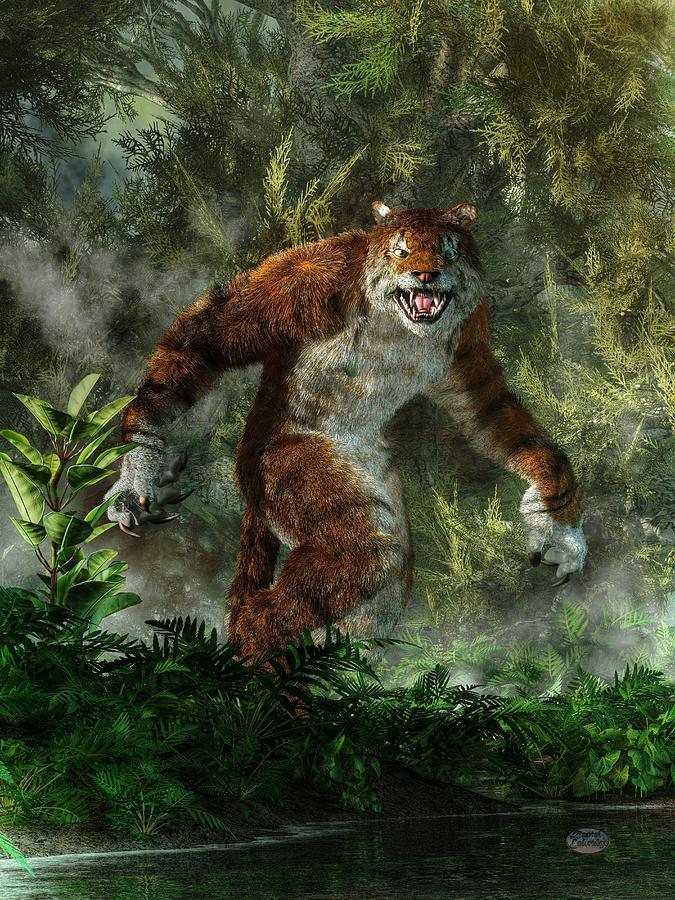 Werewolf vs weretiger - photo#22