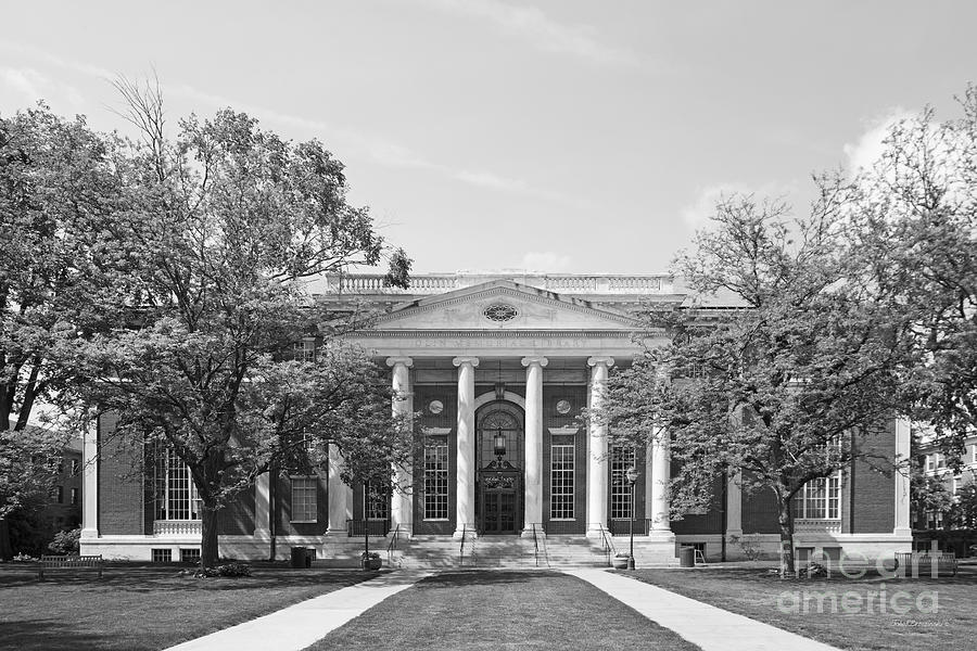 Wesleyan University Olin Library Photograph