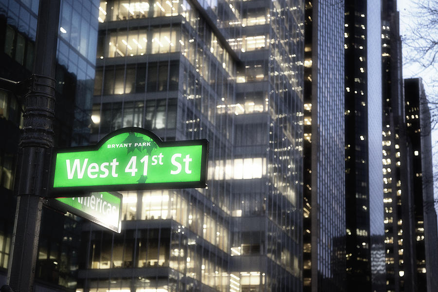 West 41st Photograph  - West 41st Fine Art Print