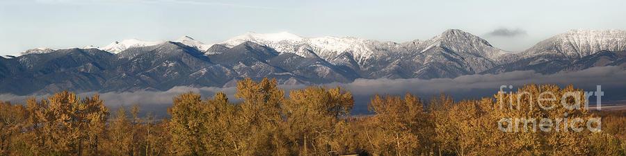 West Bridger Mountains Photograph
