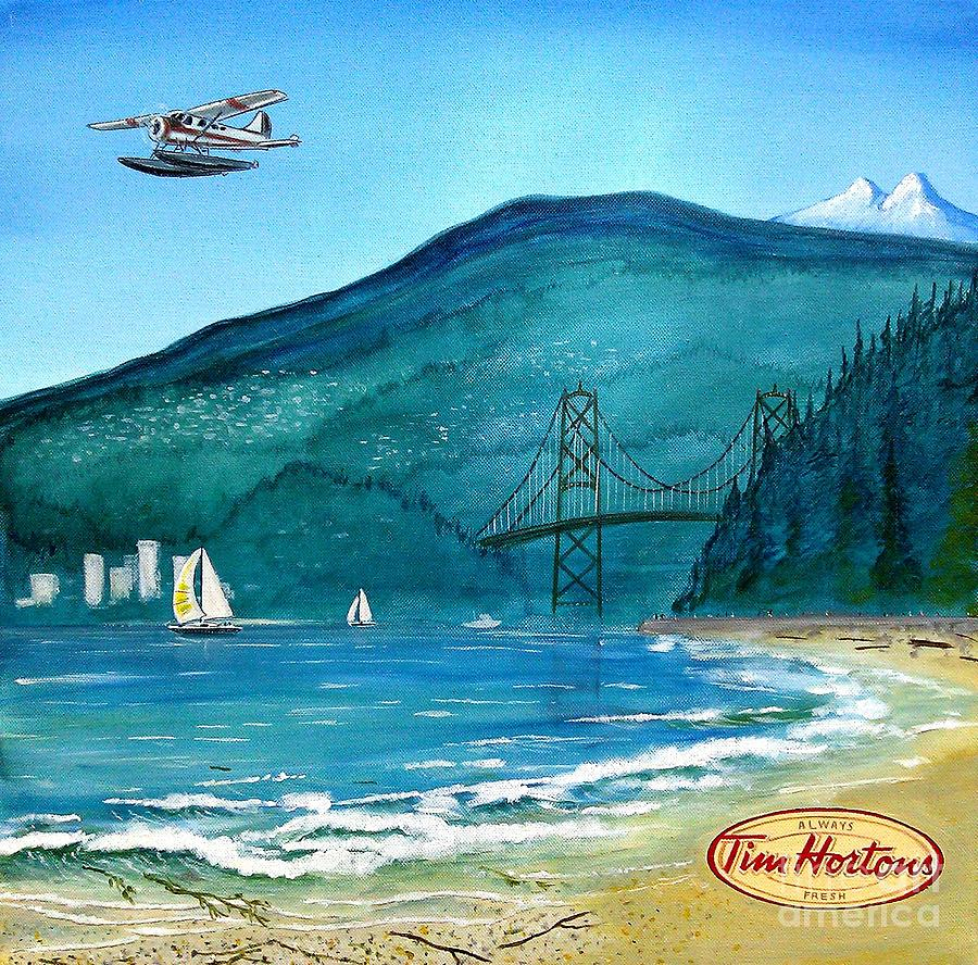 West Coast Dream Painting  - West Coast Dream Fine Art Print