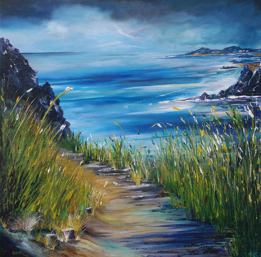 West Coast Of Ireland Painting  - West Coast Of Ireland Fine Art Print