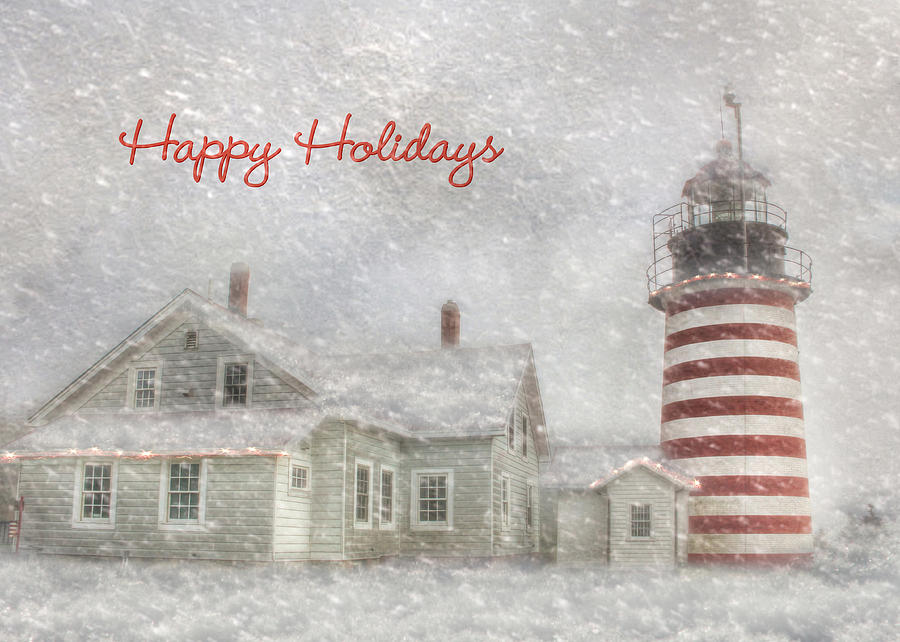 West Quoddy Christmas Photograph  - West Quoddy Christmas Fine Art Print