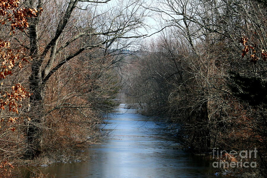 West Thompson Flooding  Photograph  - West Thompson Flooding  Fine Art Print