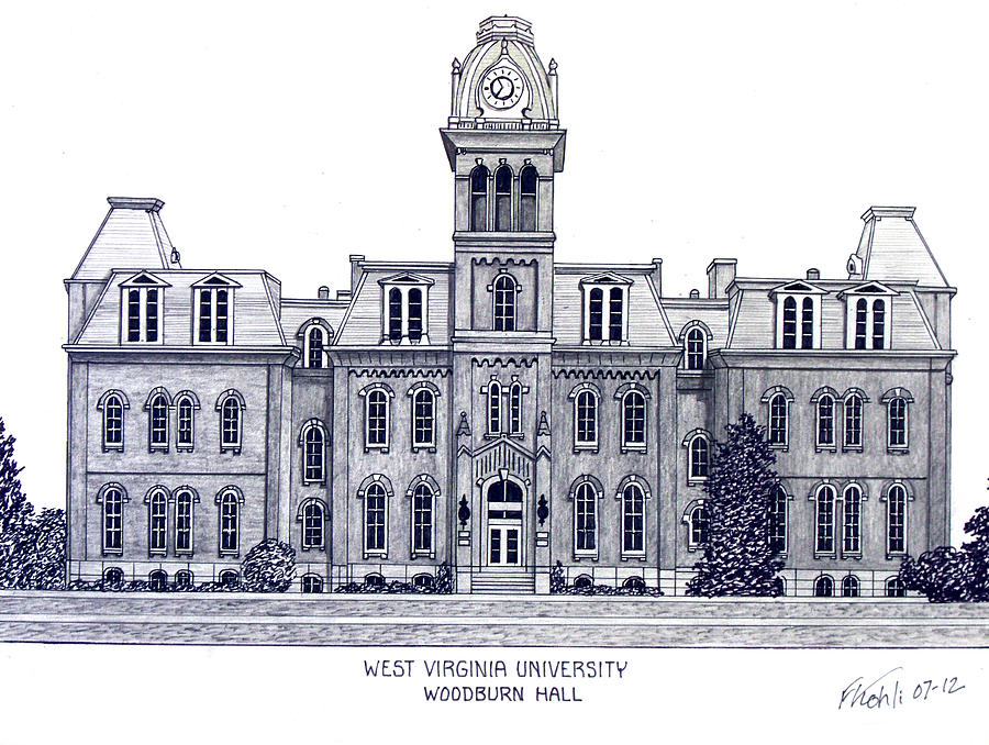 West Virginia Drawing