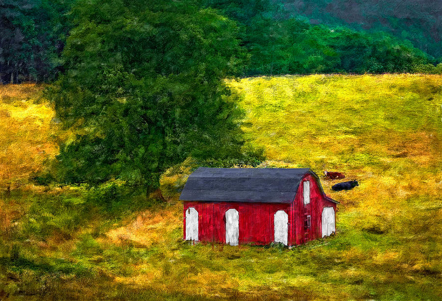 West Virginia Impasto Photograph