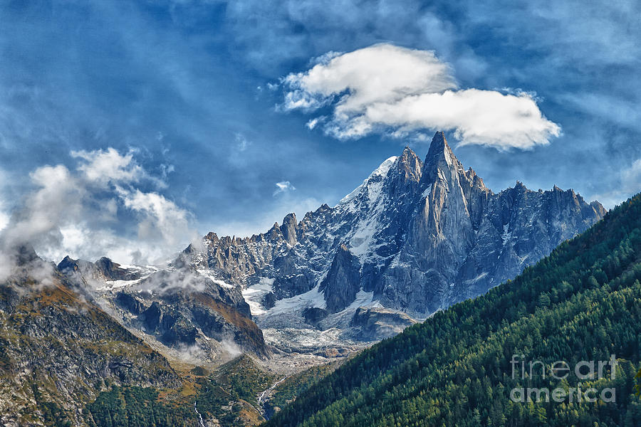 Western Alps In Chamonix Photograph