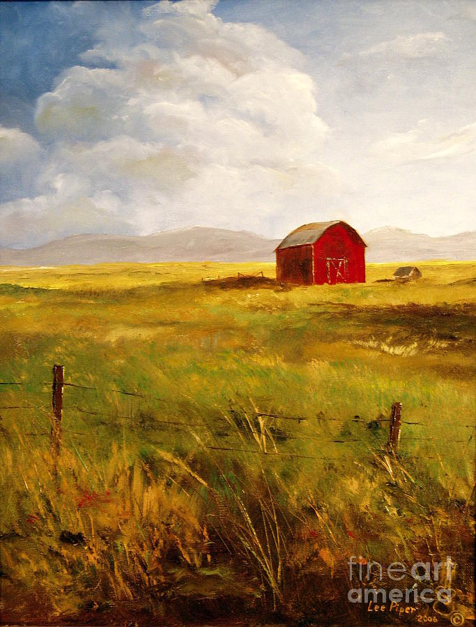 Western Barn Painting