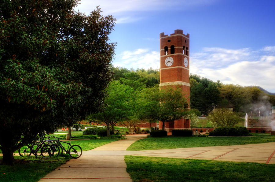 Western Carolina University Alumni Tower Photograph