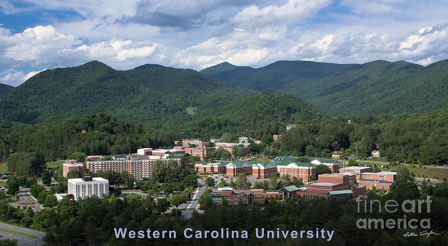 Western Carolina University Summer Photograph by Matthew ...