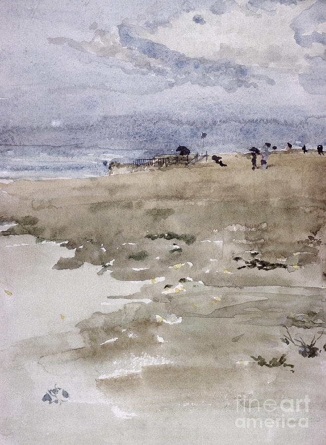 Beach Painting - Westgate by James Abbott McNeill Whistler