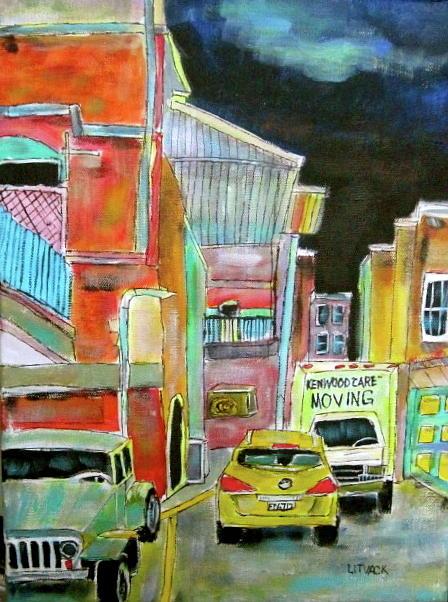 Westmount Lane Painting
