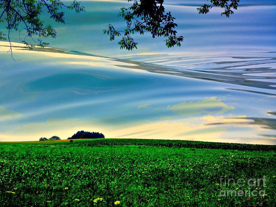 Wet Sky Photograph