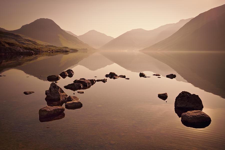Dawn Photograph - Wetlands Mornings by Evelina Kremsdorf