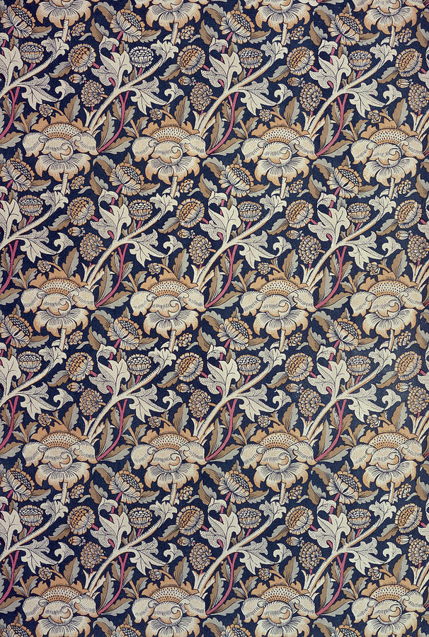 Pattern Tapestry - Textile - Wey Design by William Morris
