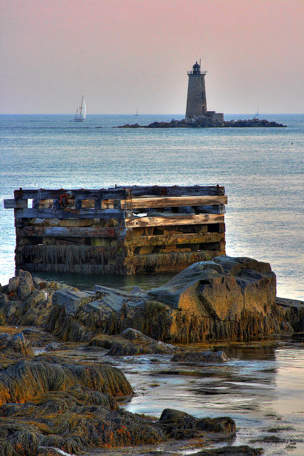 Whaleback Lighthouse Photograph  - Whaleback Lighthouse Fine Art Print