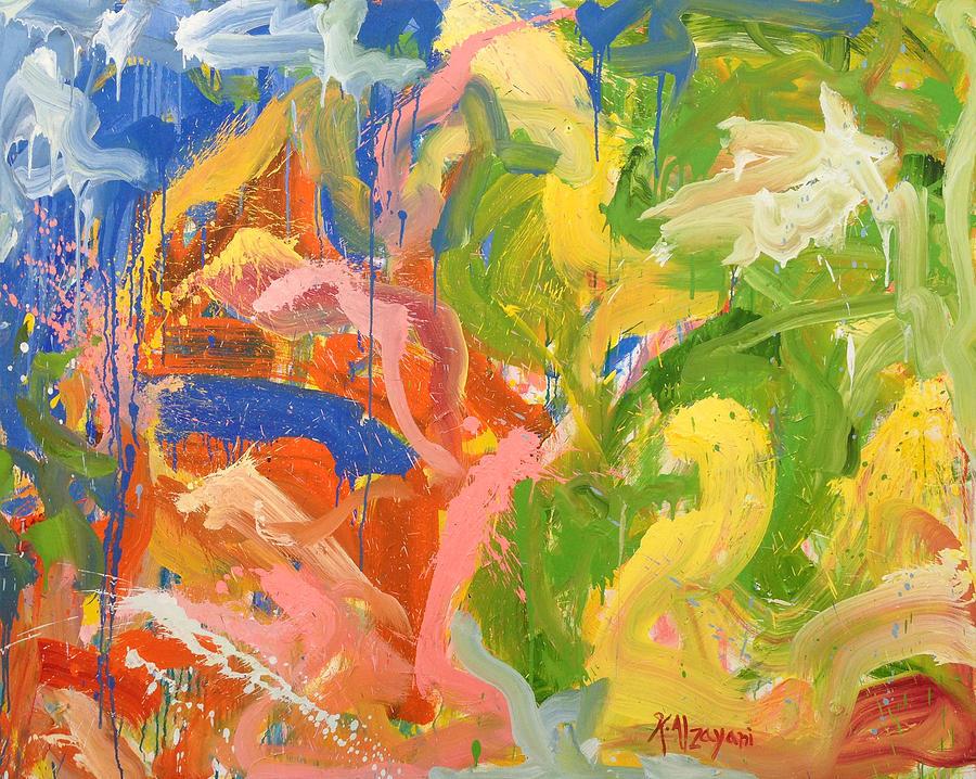 What Goes Around Painting