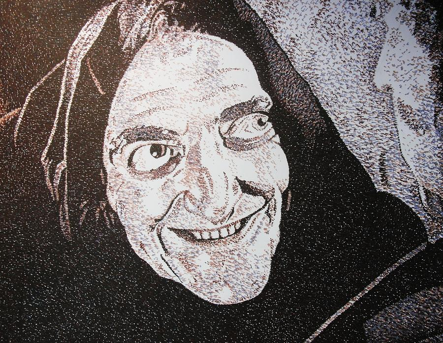 Marty Feldman Young Frankenstein Mel Brooks Movie Actor Comedy Drawing - What Hump by Jeremy Moore