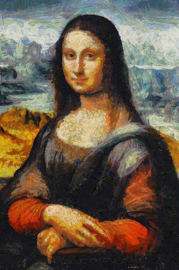 What Famous Artist Painted The Mona Lisa