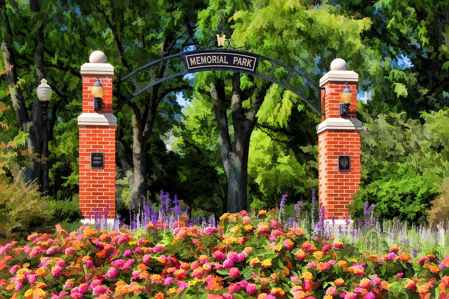 Wheaton Memorial Park Painting