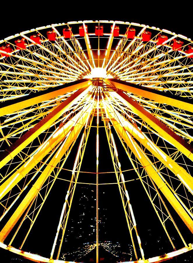 Wheel Of Light Photograph