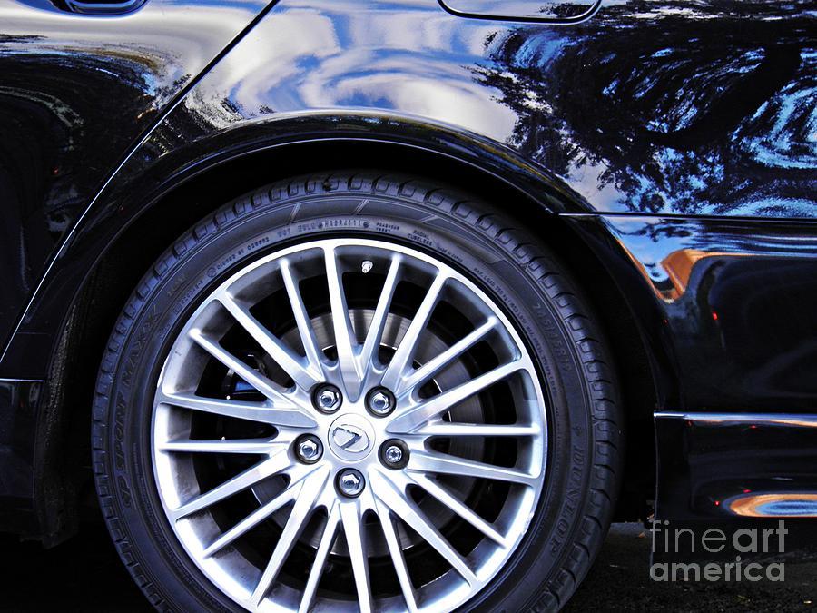 Wheel Photograph - Wheel by Sarah Loft