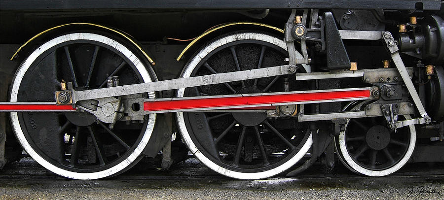 Wheels Of The Kingston Flyer Photograph