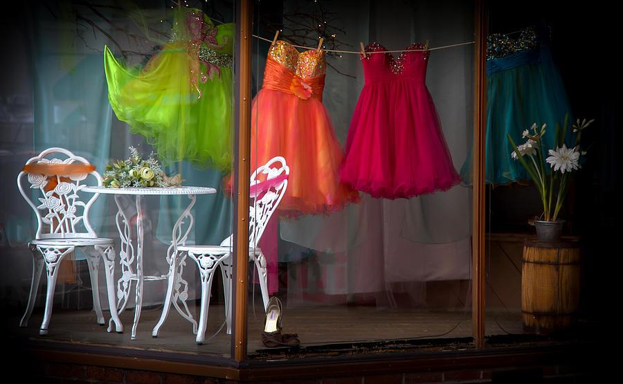Colorful Windows Photograph - When A Woman Dreams by Karen Wiles