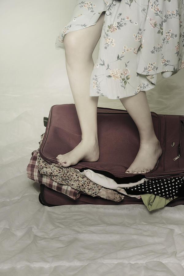 When A Woman Travels Photograph  - When A Woman Travels Fine Art Print