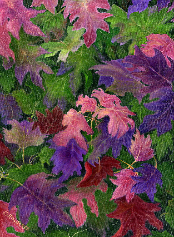When Autumn Leaves Painting