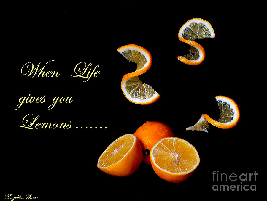 When Life Gives You Lemons II Photograph