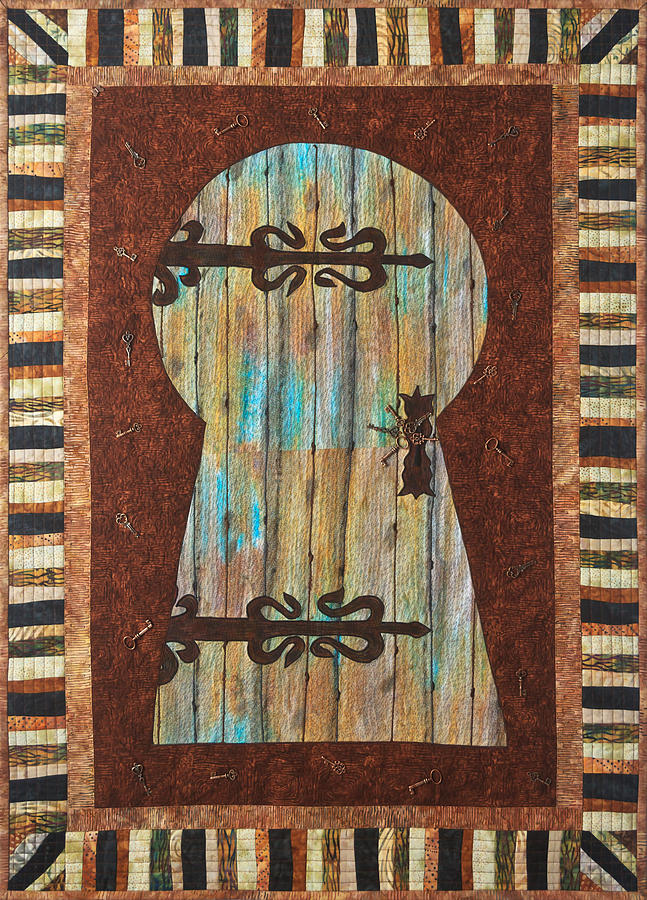 When One Door Closes Another One Opens Tapestry - Textile  - When One Door Closes Another One Opens Fine Art Print