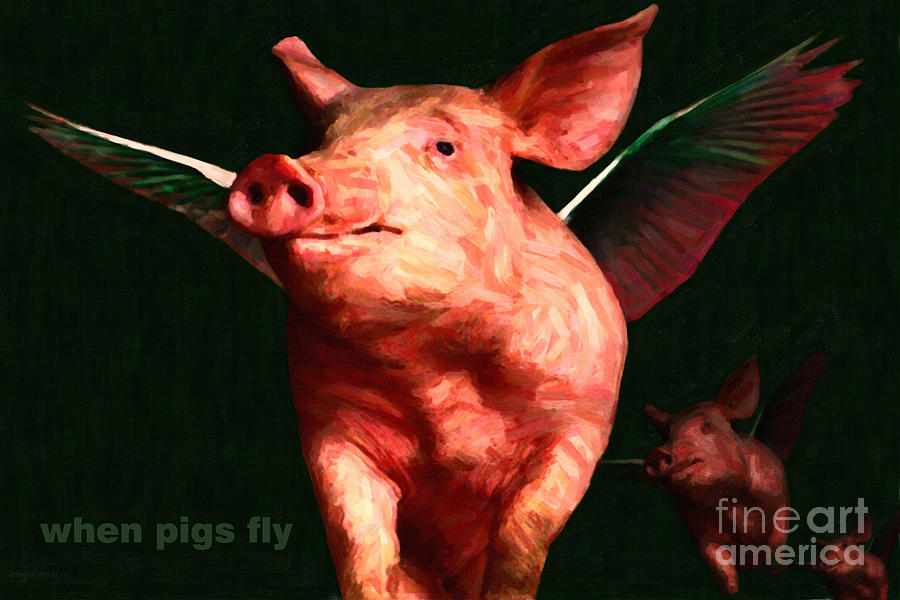 buffalo wings when pigs fly flickr photo sharing pigs flying pig wings ...