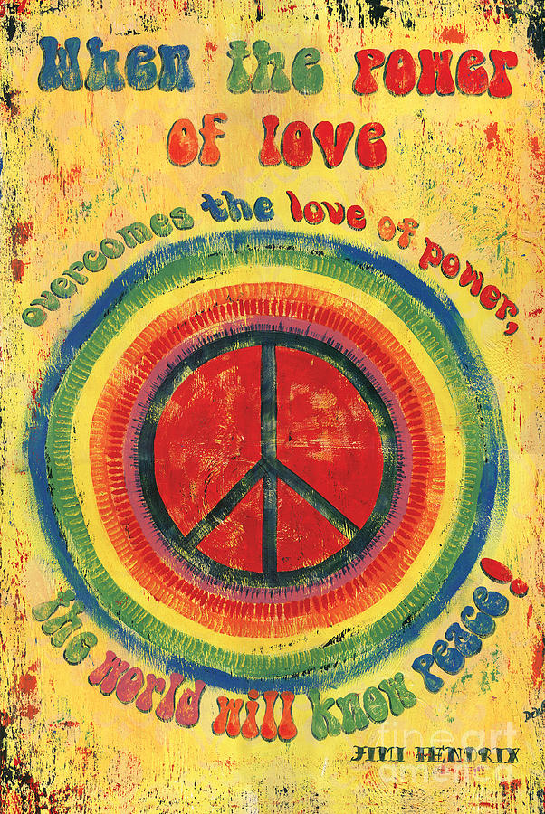 When The Power Of Love Painting  - When The Power Of Love Fine Art Print
