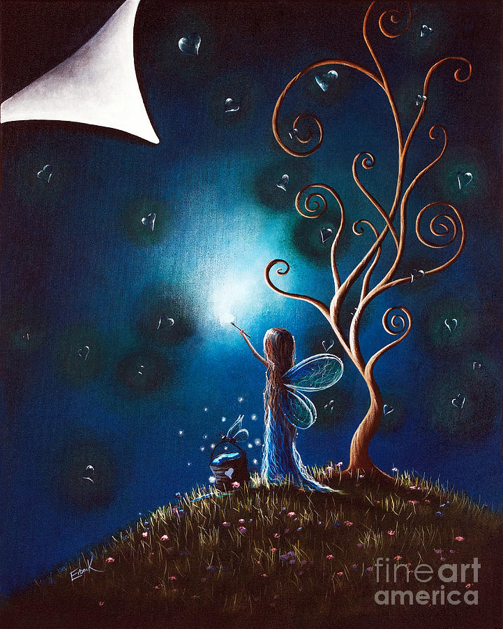 Where Dreams Happen By Shawna Erback Painting  - Where Dreams Happen By Shawna Erback Fine Art Print