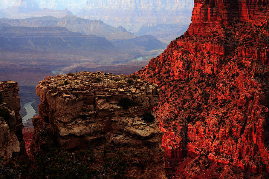 Grand Canyon Photograph - Where The River Takes You by Kenan Sipilovic