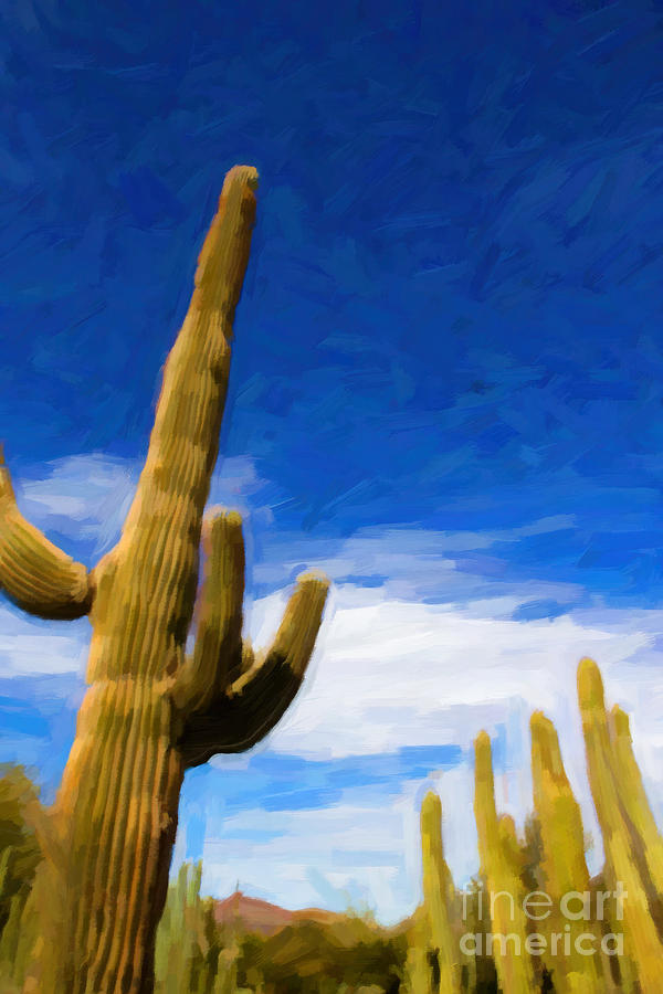 Which Way To The Sky - Oil Photograph  - Which Way To The Sky - Oil Fine Art Print