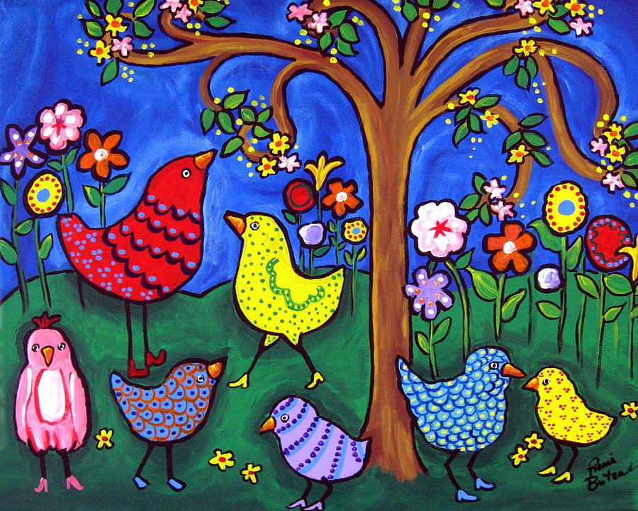Whimsical Birds By Renie Britenbucher