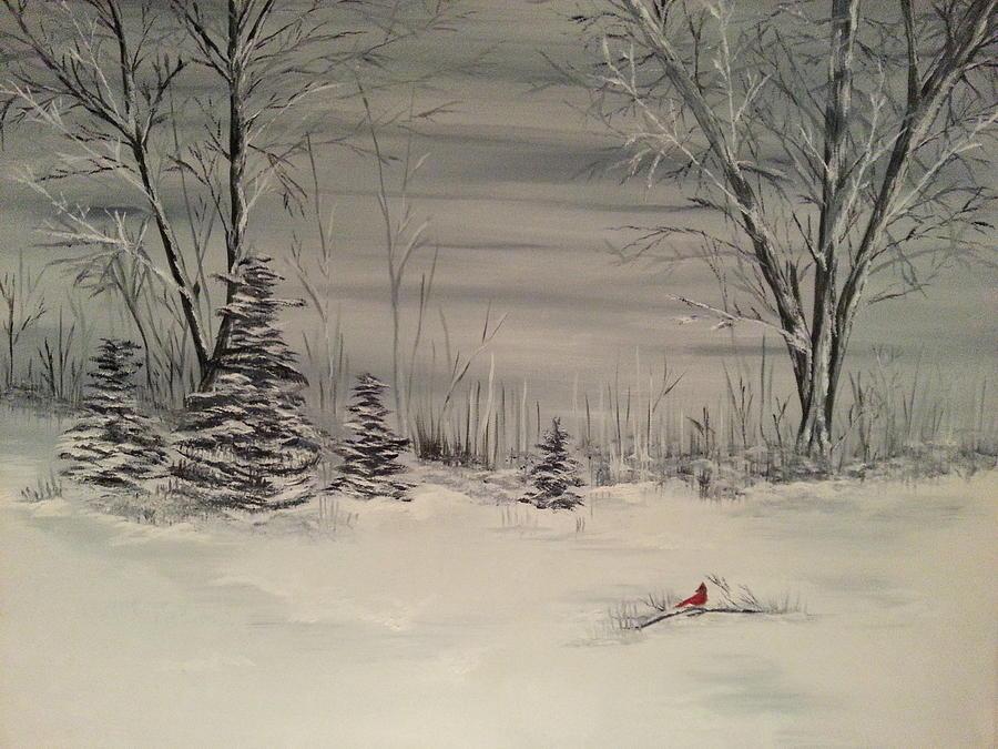 Whipple Lake Painting