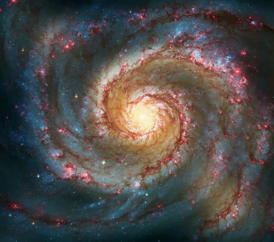 Whirlpool Galaxy  Photograph