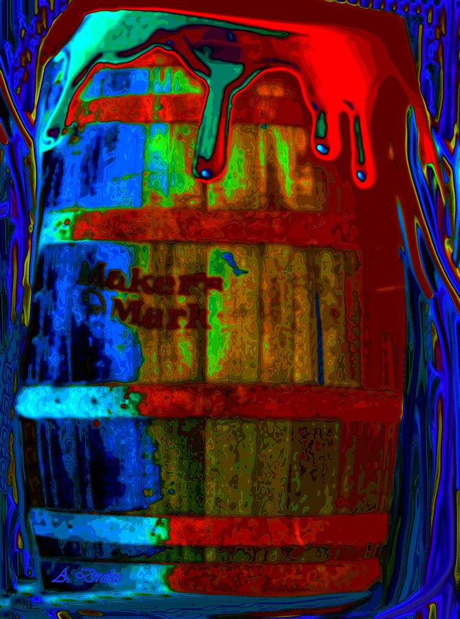 Whiskey A Go Go Digital Art  - Whiskey A Go Go Fine Art Print