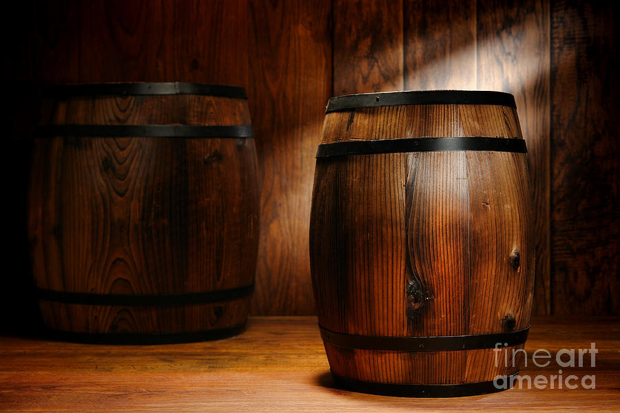 Whisky Barrel Photograph