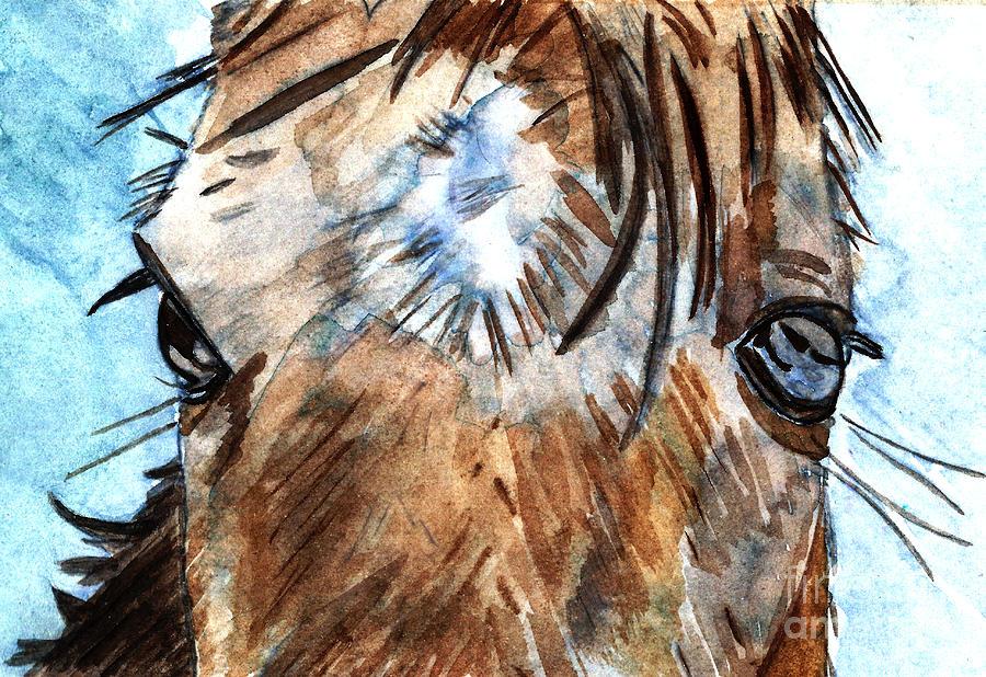 Horse Painting - Whisper by Elizabeth Briggs