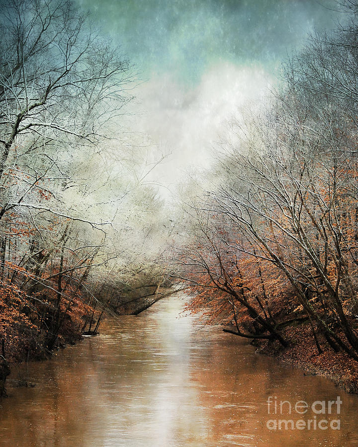 Whisper Of Winter Photograph  - Whisper Of Winter Fine Art Print