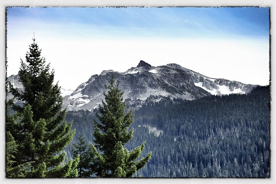 Whistler Mountain Photograph  - Whistler Mountain Fine Art Print