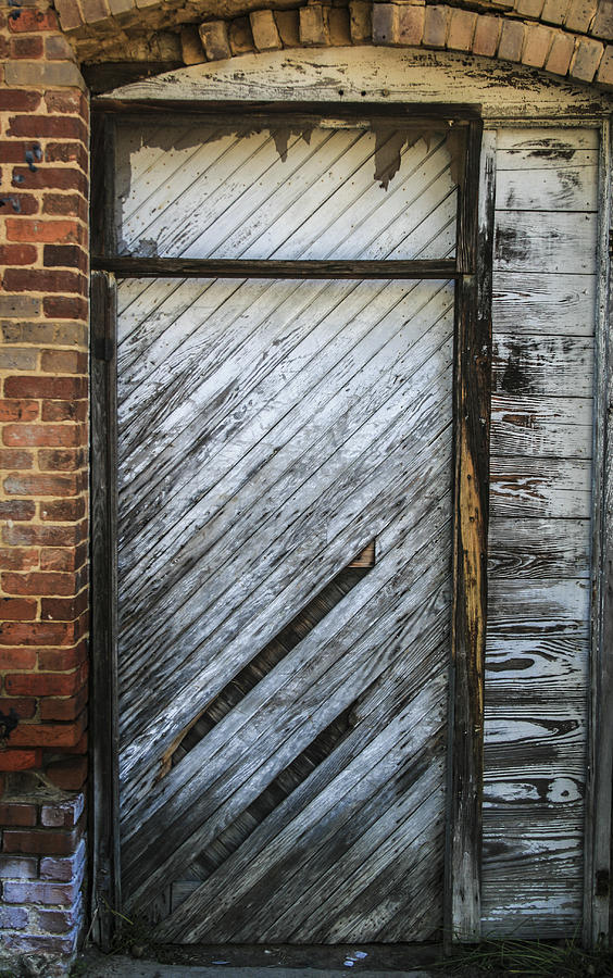 White Door Photograph  - White Door Fine Art Print