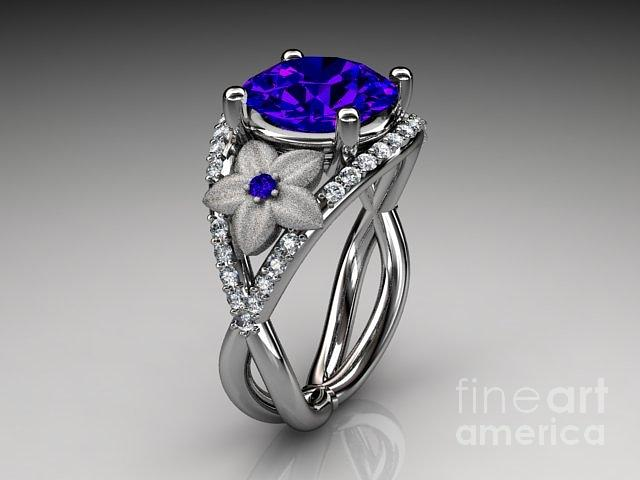 Ring Designs Blue Sapphire Engagement Ring Designs