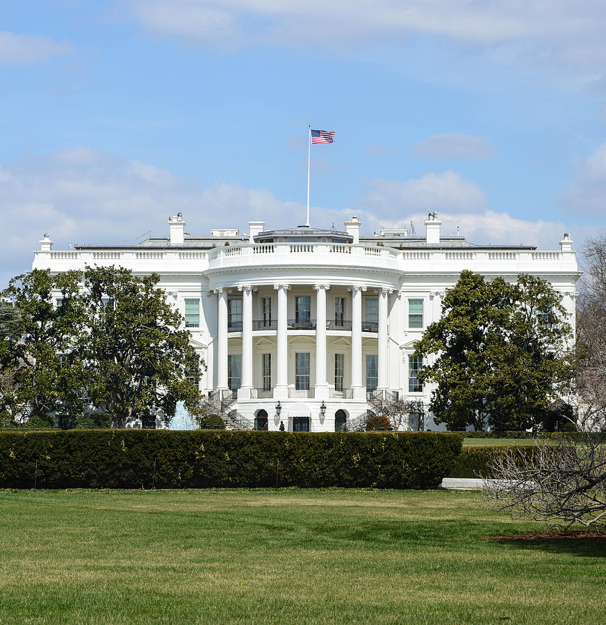 White House In Washington Dc Photograph by Brandon Bourdages